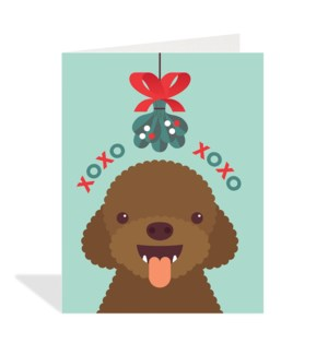 Dog Mistletoe Halfpenny