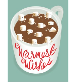 Marshmallows in Hot Chocolate|Halfpenny