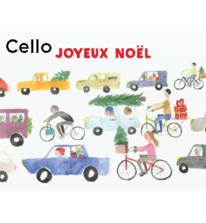 French Xmas Traffic CELLO 5|Halfpenny