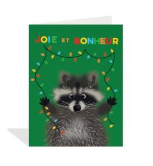 French Bonheur Raccoon|Halfpenny