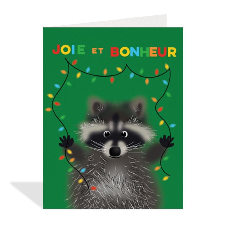 French Bonheur Raccoon Halfpenny