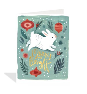 Bunny and Christmas Decorations|Halfpenny
