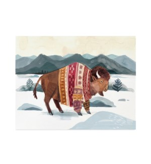 Buffalo in Sweater|Halfpenny