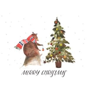 Merry Christmas Bear|Halfpenny