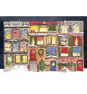 ADVENT-Christmas on Cozy Street|Halfpenny