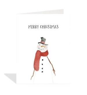 CELLO-Merry Christmas Snowman|Halfpenny