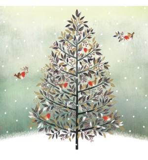Festive Tree Acetate  10 ea of 1  6x6|Ling Design