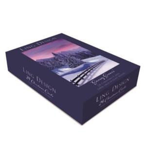 BOX - Snowy Scenes Ling Design