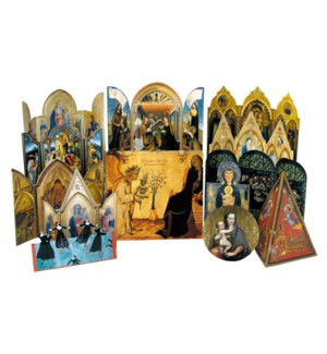 Luxury Die-Cut Assortment Box/12 Card Box|Museums Galleries