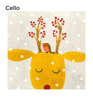 CELLO Festive Antlers Museums and Galleries
