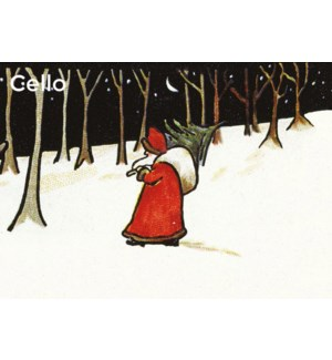 Father Christmas In /Cello Pk Of 8 Museums Galleries