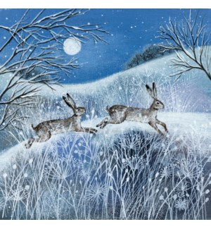 CELLO-Moon Snow And Hares|Museums Galleries