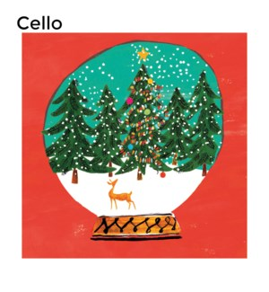 CELLO Forest Snowglobe Museums and Galleries