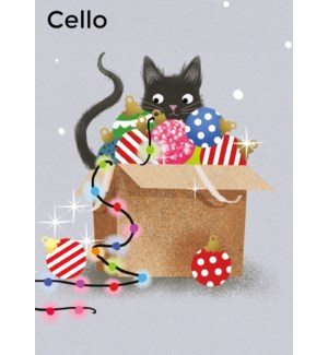 CELLO Festive Feline Museums and Galleries