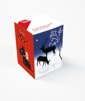 Christmas Animals/ 5 ea of 4 designs|Museums Galleries