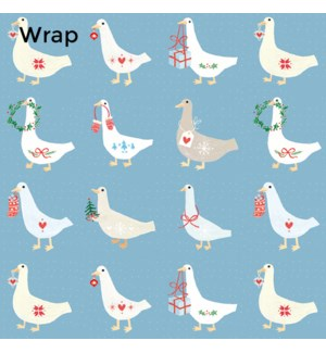 WRAP Christmas Geese|Museums and Galleries