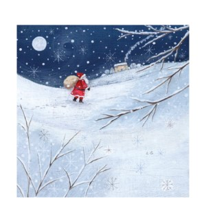 Father Christmas 4.78x4.78 5 ea of 4|Museums & Galleries