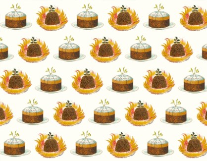 Christmas Pudding Plate Design |Museums & Galleries
