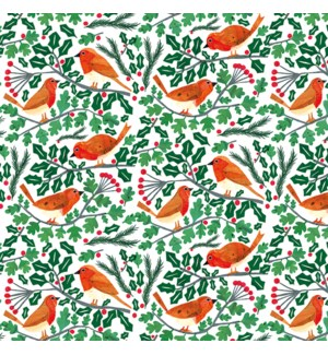 WRAP Robins And Holly|Museums and Galleries