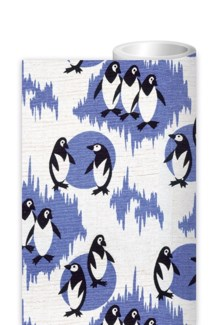 Penguins Furnishing Fabric ROLL|Museums & Galleries