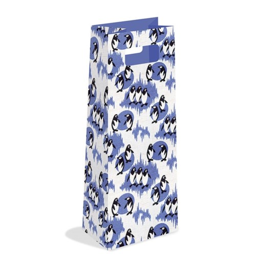 Penguin Furnishing Fabric Bottle Bag |Museums & Galleries