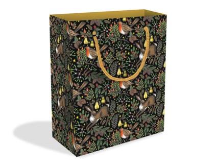Christmas Garden Medium Bag |Museums & Galleries