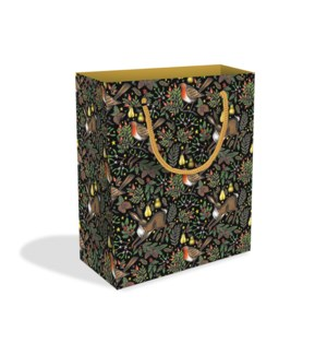 Christmas Garden Medium Bag |Museums & Galleries