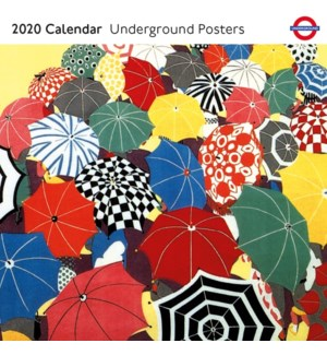 Underground Posters 2020 Calendar|Museums Galleries