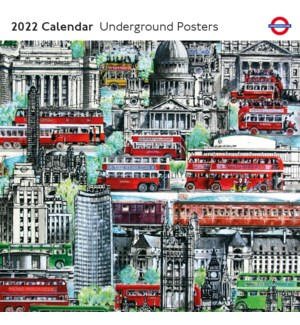 CALENDAR Underground Posters|Museums and Galleries