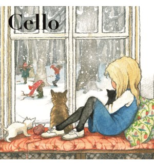 Alice In Winter/Cello Pk Of 8|Museums Galleries