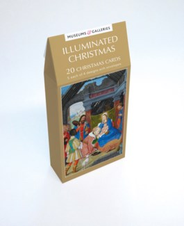 ILLUMINATED CHRISTMAS 5 ea of 4 designs|Museums Galleries