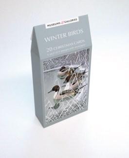 WINTER BIRDS 5 ea of 4 designs|Museums Galleries