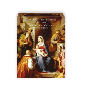 BOX 30 Card Christmas Masterpieces|Museums and Galleries