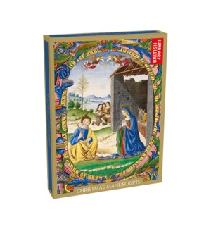 BOX Christmas Manuscripts|Museums and Galleries