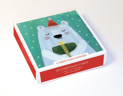 CHRISTMAS WISHES 5 ea of 4 designs|Museums Galleries