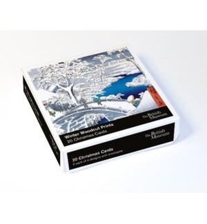 BOX Winter Woodcut Prints|Museums and Galleries