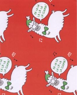 Llama Giftwrap |Ohh Deer