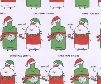 Spirits Giftwrap |Ohh Deer