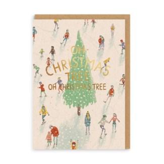 Oh Christmas Tree 4x6 Ohh Deer