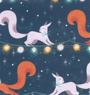 XMAS Squirrel Giftwrap |Ohh Deer