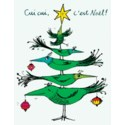 Bird Xmas Tree French BOX 15|Paper E. Clips