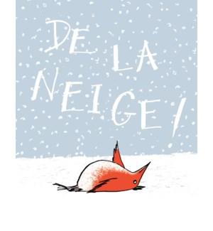 BOX-De La Neige Bird French|Paper E Clips