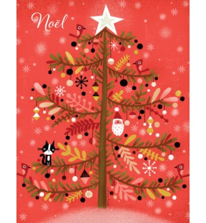 Xmas Tree French BOX 15|Paper E. Clips