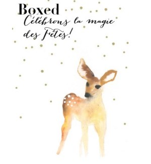 French Fawn Snow BOX 15|Paper E Clips