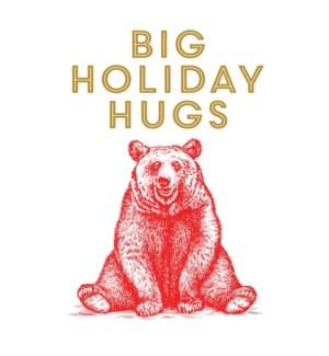 BOX-Holiday Hugs Bear Paper E Clips