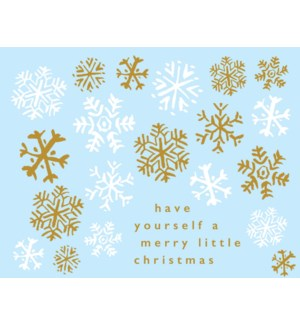 BOX-Snowflakes Paper E Clips