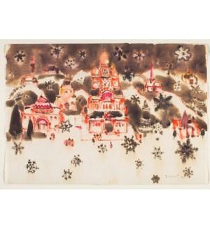 BOX-AGO Snow in Bethlehem Box Paper E Clips