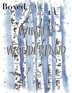 Blue Birch Trees|Paper E Clips