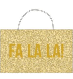 BAG-Gold Fa La La Tote|Presto
