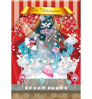ADVENT CARD-The Nutcracker|Real and Exciting